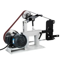 New 3IN1 Variable Speed Belt Grinder Machine 0 2800RPM For Stock Removal Profiling Handles and Finish Work