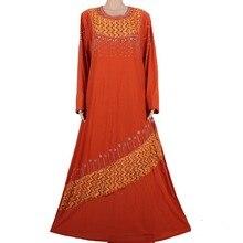 Muslim abaya dress islamic hijab long dress dubai kaftan robe abaya turkish clothes muslim abaya dresses brown70MD791