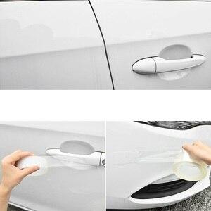 Image 4 - 2019 New Open The Door Car Anti Collision Auto Door Collision Avoidance Stick Rubber Strip Decoration Stickers Car Accessories