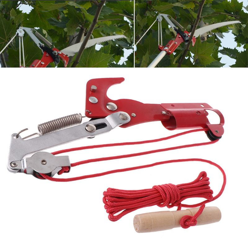High-altitude Extension Lopper Branch Scissors Extendable Fruit Tree Pruning Saw Cutter Garden Trimmer Tool