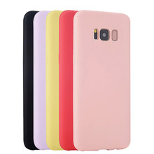 Original Soft Case de Silicone Para Samsung Galaxy S6 S7 Borda S8 Plus S4 S5 Neo A3 A5 A7 2016 2015 nota 8 5 4 Tampa Traseira Estojo(China)