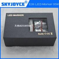 2016 new 60W led marker kit E39 E60 E63 E65 E53 E83 E87 led angel eyes kit auto style light car daytime running light drl