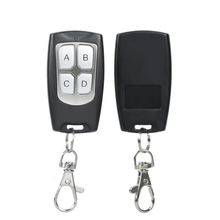 2pcs 433MHz Universal 4CH  Wireless RF Relay Transmitter Button Remote Control Switch 2 Pcs * KT19-4 433Mhz