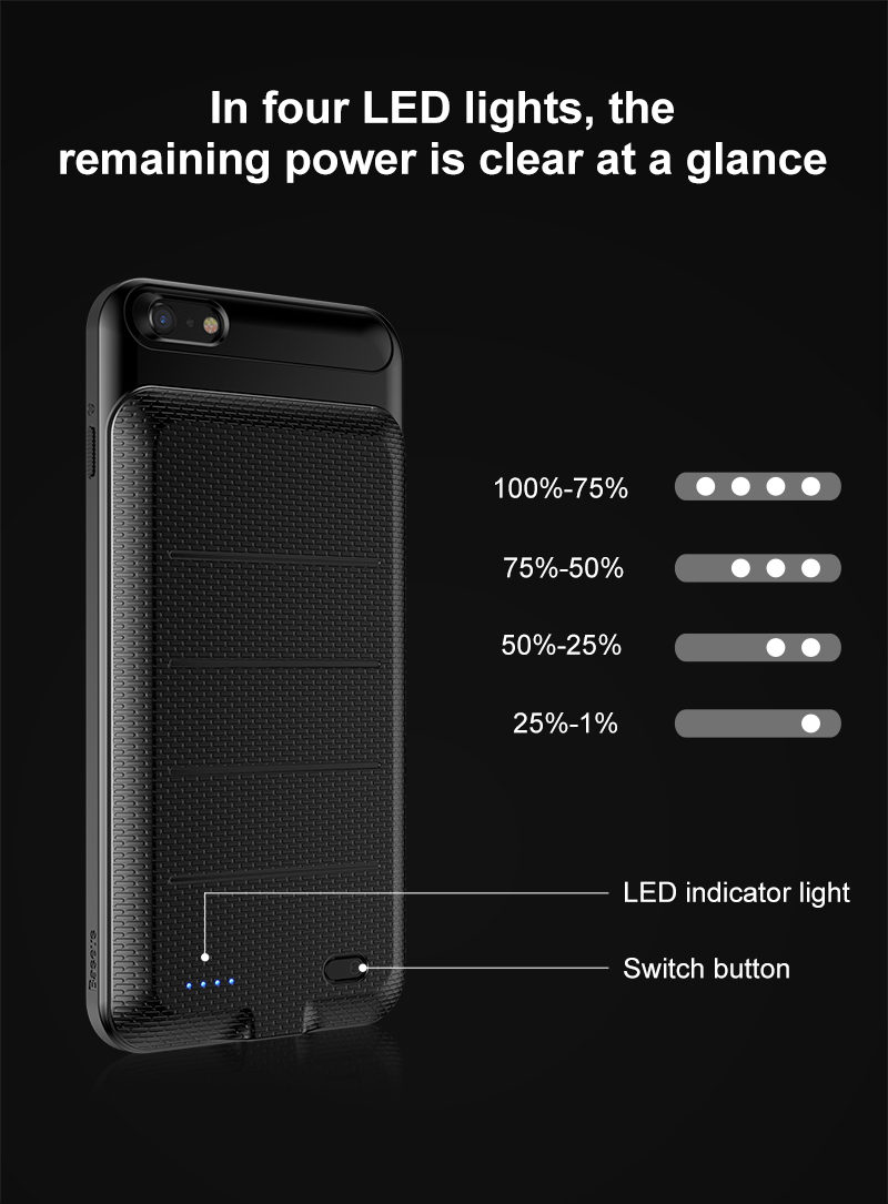 Battery Charger Case For iPhone 6 6S (13)
