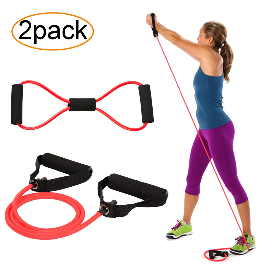 120cm Yoga Pull Rope Set Workout 1+8 Word Chest Developer Expander Resistance Bands Elastic Rubber Bands Fitness Tubes Training Gym & Bodybuilding cb5feb1b7314637725a2e7: Black|Blue|Green|new black|new blue|new green|new red|Red