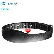 Оригинал Meizu Бонг 2 S Группа Фитнес трекер сердечного ритма Мониторы Водонепроницаемый Смарт Браслет Спорт smartband для Android 4.3 iOS 8.0