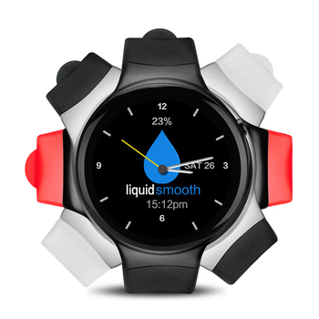 i4 HD Color Round Touch AMOLED Screen Smart Watch 1GB Quad-Core 16GB GPS 3G Healthy heart rate Bluetooth Sync Multipurpose Watch g6 tactical smartwatch