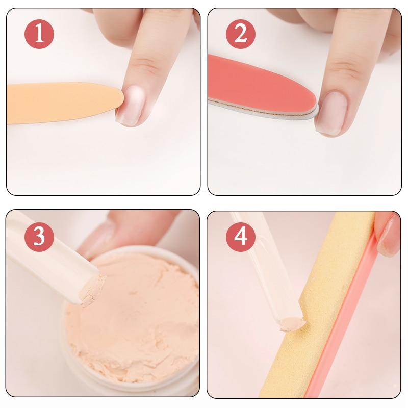 Nagel polijsten wax 7pcs / sets nail art manicure glans polijsten - Nagel kunst - Foto 5
