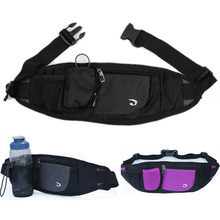 Unisex Waterproof Nylon Hip Belt Running Chest Bag Cell/Mobile Phone Case Cover Purse Travel Water Bottle Waist Pack Bags
