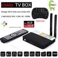 3 GB/32 GB Amlogic CSA93 S912 Cortex-A53 Núcleo Octa Androide 6.0 TV BT4.0 caja 2.4G/5.8G Dual WiFi H.265 Meida 4 K 1000 M Inteligente jugador