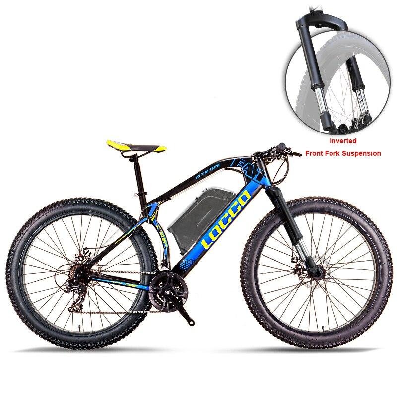 Polegada Cavaleiro 26 48 V bateria de lítio bicicleta de montanha elétrica 1500 w motor de alta velocidade pneu gordura bicicleta elétrica gordura ebike max 70 kmh