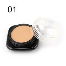 1pcs Makeup Concealer Foundation Cream Moisturizing Oil-control Make Up Primer Perfect Cover Contour Palettexgrj
