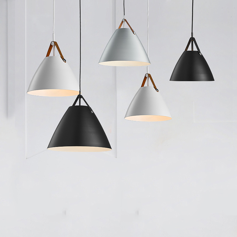 White Black Pendant Light Pendant Lamp For Dinning Room Resterant Bar Modern Pendant Lighting minimalist living room dining phube lighting modern pendant light black white green grey pendant light bar restaurant living room lighting