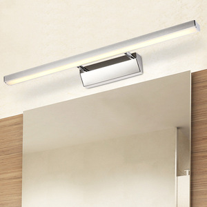 Image 4 - LED Mirror Light 40 50cm Waterproof Modern Cosmetic Wall Lamp Stainless Bathroom sconce lamps Cabinet lighting Decoration Lights