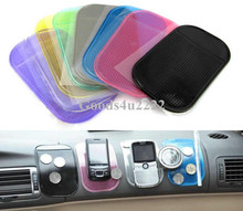 10PCS/Lot Mix Color Silica Gel Magic Sticky Pad Car Anti-Skid Pad Non Slip Mat For Car Dvr GPS Durable Use