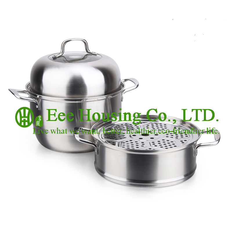 Stainless Steel Cooking Cookware Kitchenware Set Free Shipping Factory Price Cooking Pot,stainless Steel Steamer Pot Kitchen