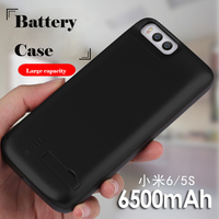 In All 6500mAh Battery Case For Xiaomi Mi6 Smart USB Charger Cover For Xiaomi Mi6 Bracket