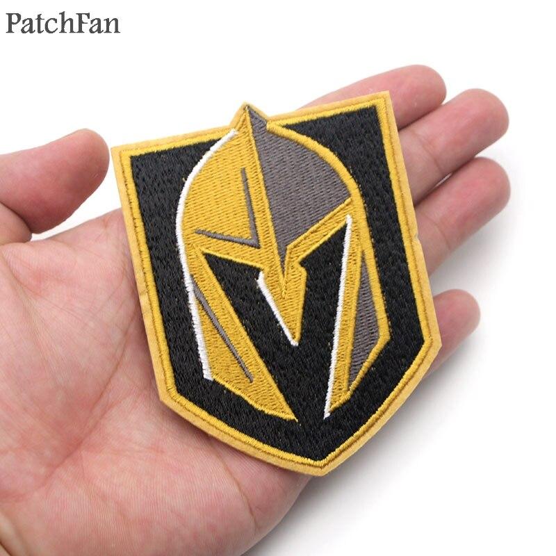 8e4cdf513cd8 A0567 Patchfan Golden Knights Πρωταρχικό NHL Team Logo Κεντημένα ...