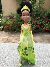 "Disney Princess Royal Shimmer 10 ""ตุ๊กตาแฟชั่น Action FIGURE Tiana ใหม่ไม่มีแพ็คเกจ"