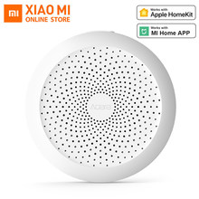 Xiaomi Centro aqara mi Gateway 2 con luz nocturna Led RGB trabajo inteligente con Apple Homekit y aplicación aqara para xiaomi Smart home(China)