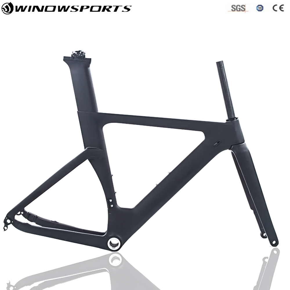 Disc Road Carbon Bike Frame Aero Carbon Bicycle Bike Frame Bsa 49/51/54cm  EMS Or XDB Shipping Available