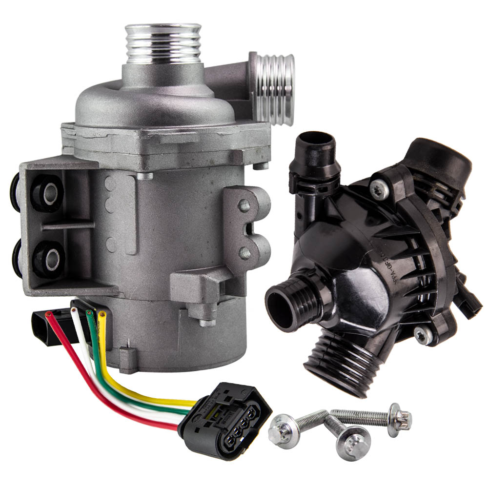 New Electric Engine Water Pump And Thermostat For BMW X3 X5 328i 128i 528i  11517586925 11510392553,