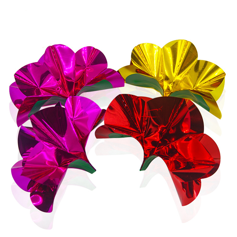 10pcs=1set Flower From Empty Hand PVC Flower magic trick Appearing flower close up stage magic illusion props