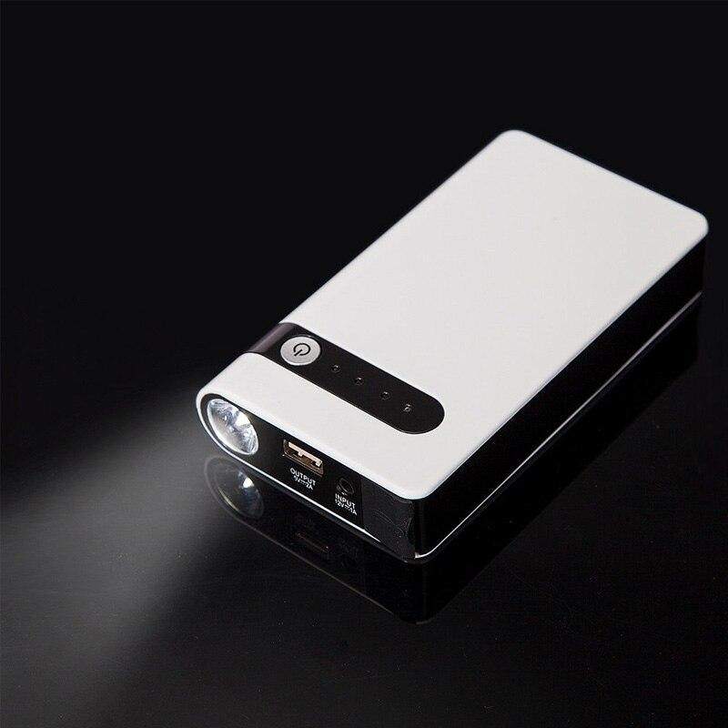 Prix pour LUNDA Mini Portable Voiture Saut Stater pour Moteur À Gaz up à 3.0L Compact D'urgence De Voiture Auto Batterie Booster Chargeur Puissance banque