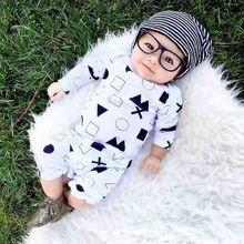 Newborn Baby Infant Boys Girls Symbol Rompers Jumpsuit Clothes 0-24M