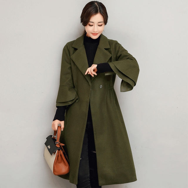women long wool coat solid women s jacket pink long coat cashmere