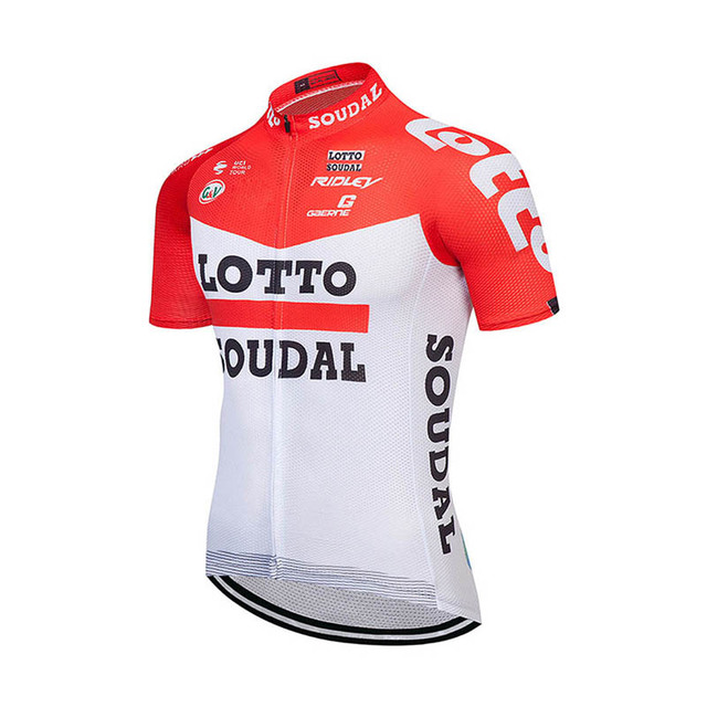 New 2018 LOTTO Pro Men Cycling Jersey Summer Team Short Sleeve shirt Ropa  Maillot Ciclismo Bike Sport Cycling Clothing G1003 8562a3c2b