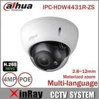 Dahua 4mp IP Camera IPC HDBW4431R ZS 2 8mm 12mm Electric Zoom PoE IP CCTV Camera