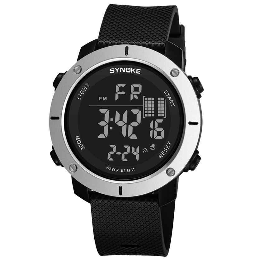 Pria Tahan Air Watch LED Digital Olahraga Watch Male Clock Relogio Inteligente Relogio Masculino Dropshipping