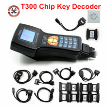 Top Rated V16.8 T300 Key Programmer T300 chip key decoder Support Multi brands t 300 Auto Key Programmer English/Spanish