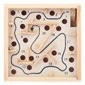 Деревянный Лабиринт Лабиринт Ручные Игры для Детей Развивающие Игрушки