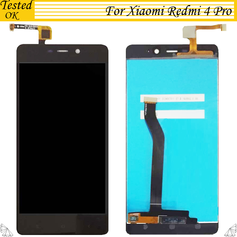 Tested For <font><b>Xiaomi</b></font> <font><b>Redmi</b></font> <font><b>4</b></font> <font><b>Pro</b></font> LCD Display Screen Touch Panel <font><b>Redmi</b></font> <font><b>4</b></font> <font><b>Prime</b></font> <font><b>3GB</b></font> RAM <font><b>32GB</b></font> LCD Display Digitizer Replacement Parts image