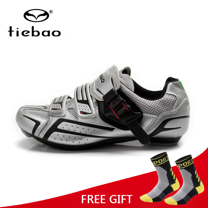 Tiebao Cycling Shoes Men Women Road MTB Bike Shoes Self Locking Sport Shoes Breathable Bicycle Shoes