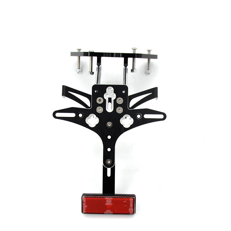 New Style Motorcycle CNC Aluminum Alloy Adjustable License Plate Holder Bracket Fit For Suzuki GSXR1000 K9 2009-2015 smaart v 7 new license