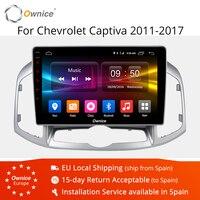 Ownice K1 K2 K3 Android 9.0 Octa Core Car GPS Navigation DVD Player for Chevrolet Captiva 2011 2017 Radio 2 Din Auto Navi