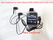 Free Shipping Wholesale Smart Watch Earphone in-ear Headsets Earbud Micro USB Plug Wired Earpiece for Smart Watch DZ09 GV18