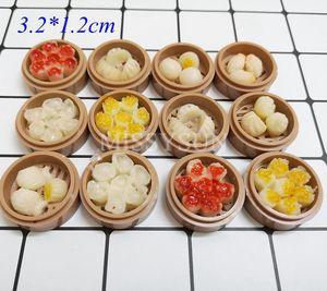Image 3 - Miniaturas for1/6 bonecas para cozinha, miniaturas de macarrão, arroz chinês, sobremesa, escala 1:6, cozinha brinquedos, brinquedos