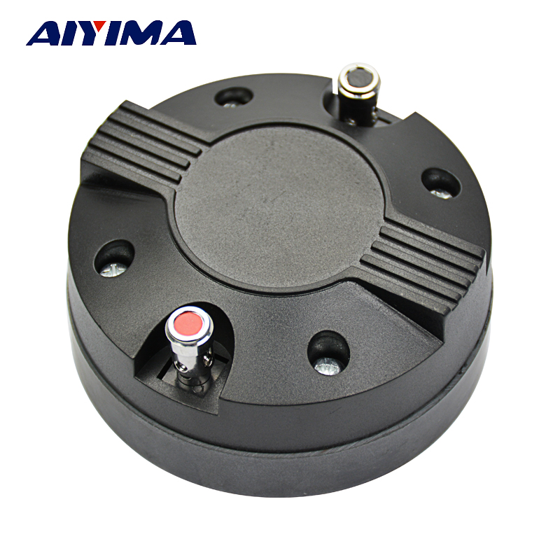 AIYIMA 1Pc Portable Audio Treble Speaker Drive Titanium Film Tweeter Driver 34 Core Hiraguchi 8Ohm 30W DIY For Home Theater