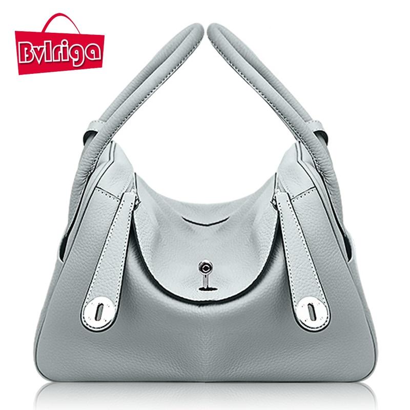 BVLRIGA Luxury font b handbags b font women bags designer genuine font b leather b font