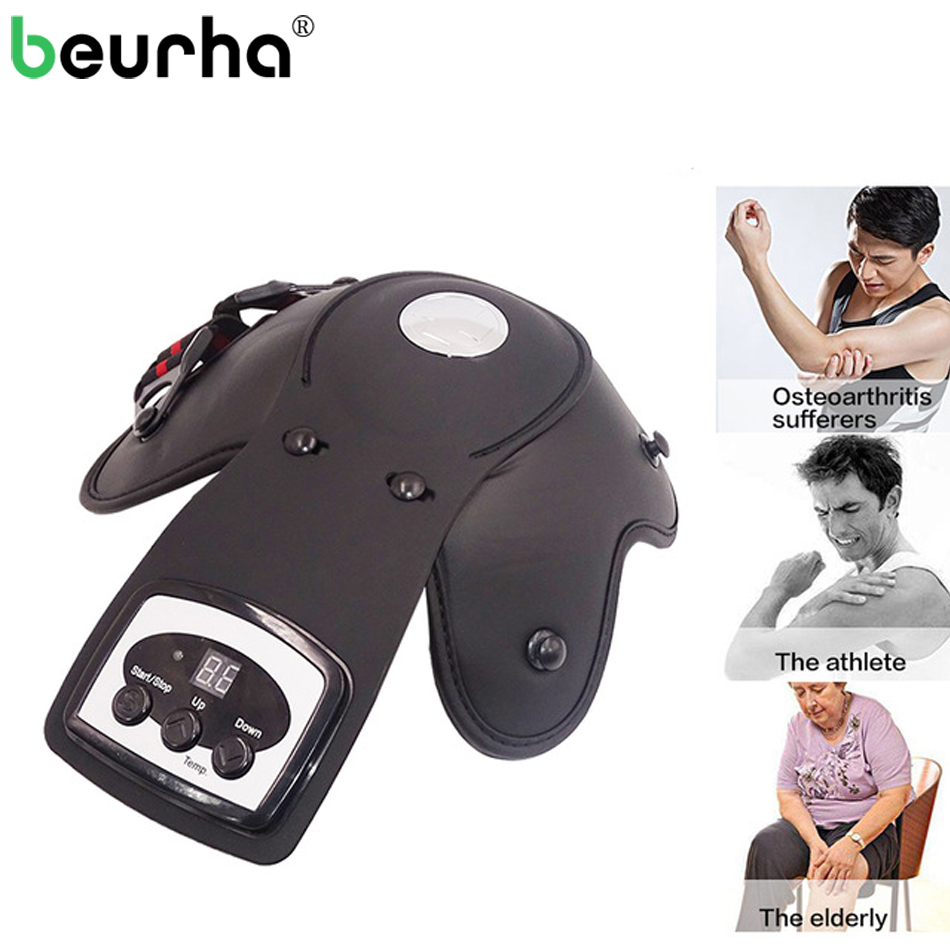 Infrared Magnetic Therapy Knee Massager Rheumatoid Knee Joint Physiotherapy Instrument Relieve Elbow Shoulder Arthritis Leg Pain knee pain relief massaging for arthritis knee health care laser therapy massager
