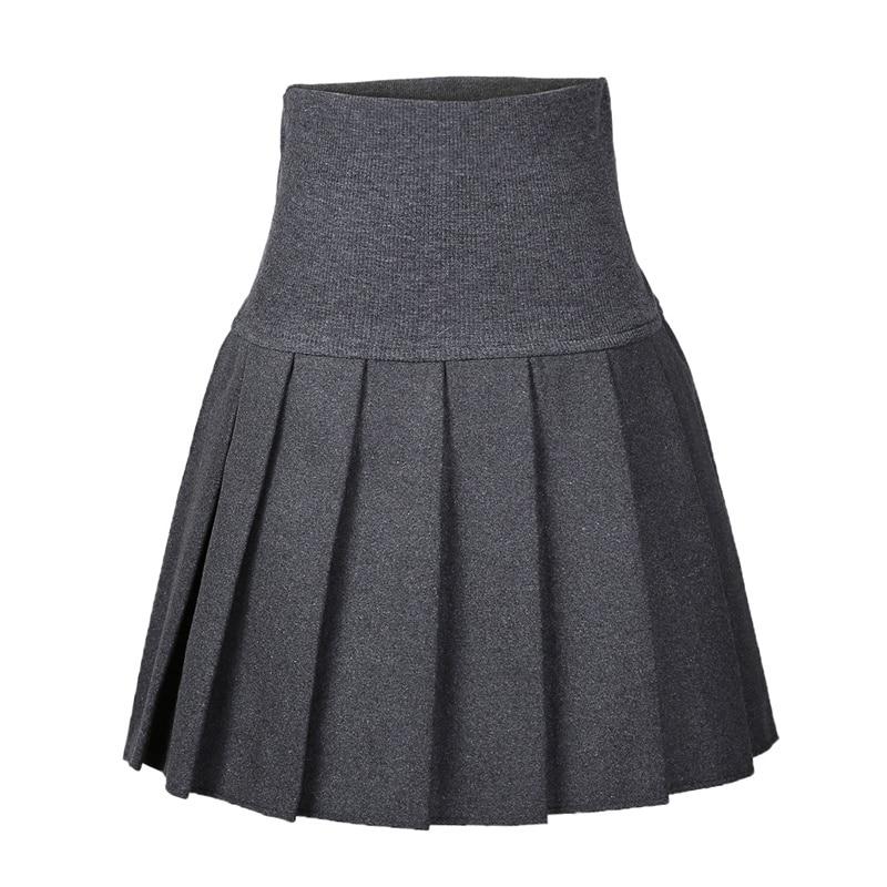 52185f2852 Nueva Sexy falda faldas de Otoño de moda más Tamaño XL alta cintura plisada  Falda Skater negro para las mujeres NS1459 en Faldas de La ropa de las  mujeres ...
