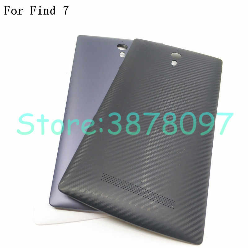 New Repair Parts Battery Back Cover For OPPO Find 7 X9007 X9077 Find7 Battery Back Cover Housing Case Rear Door With NFC Logo