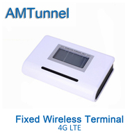 4G LTE Fixed Wireless Terminal LTE FWT With LCD Display For Connecting Desktop Phone Or PBX