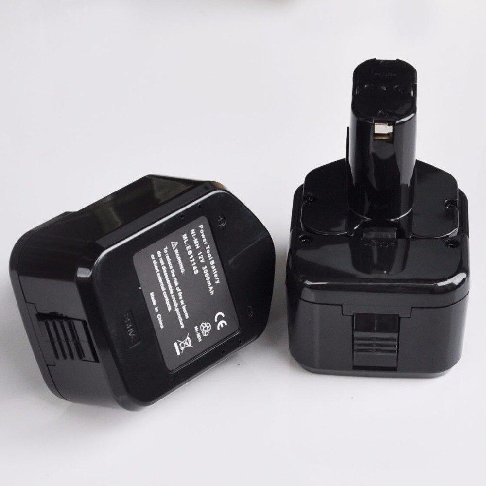WP 12da Accu ® Outil pile batterie 12 V 3.300 mAh Pour Hitachi wh12dmr2 wp12da