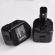 Us 1 pçs 3000mah 12 v ni-mh bateria recarregável para hitachi sem fio elétrica broca chave de fenda eb1212s eb1214s eb1220hl