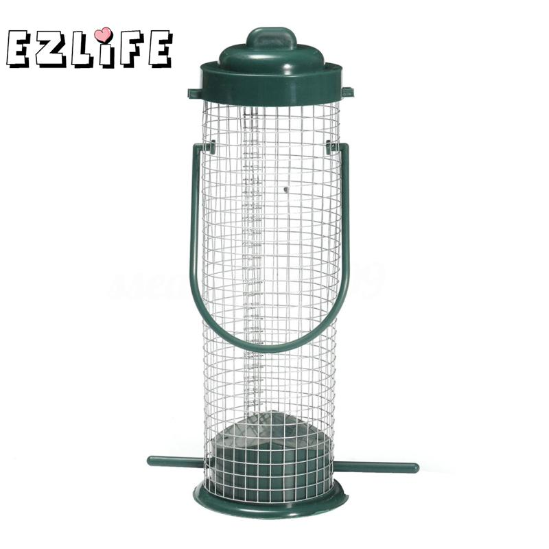 Misterolina Bird Feeder Park Bird Supplies Pet Products Bird Wild Outdoor Garden Hanging Ports Seed Plastic Feeder Zyw6103
